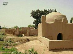 A simple Mosque but beautiful look at rural Punjab areas Pakistan