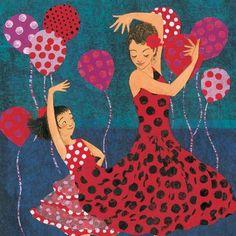 Lola's Fandango, written by Anna Witte,  Illustrated by Micha Archer