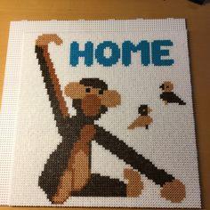 Home Kay Bojesen Hama Beads #hamabeads #hamaperler #hamamini #home Fuse Beads, Perler Beads, Tapestry Crochet Patterns, Hama Beads Design, Beaded Cross Stitch, Beading Patterns, Pixel Art, Diy And Crafts, Embroidery