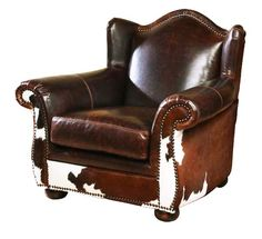 Bonanza Western Chair 2001C Western Accent Chairs