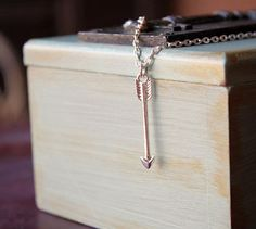 Itty Bitty Arrow Necklace | andRuby