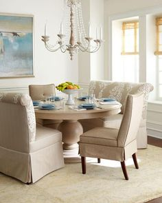 Homemade Design; Vanguard Banquette     Dining Table   Horchow |  Transitional   Modern   Glam | Pinterest | Traditional, Homemade And  Traditional Dining ...