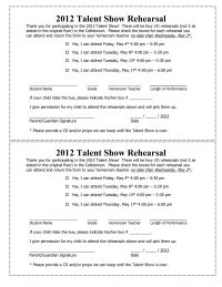 Talent Show The Kit To Run Your Event  Rubrics School And Pta