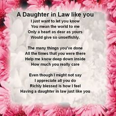 20 great birthday messages for a daughter in law message quotes personalised coaster daughter in law poem pink floral free gift box bookmarktalkfo Images