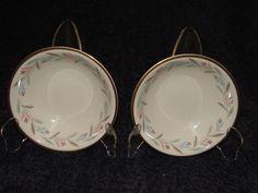 Homer Laughlin Eggshell Nautilus Nantucket Berry Fruit Bowls FOUR Nice Vintage! #HomerLaughlin