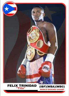 Trinidad, Puerto Rican Coffee, Misty May Treanor, Puerto Rican People, Boxing Images, Professional Boxing, Boxing Posters, World Boxing, Puerto Rico History