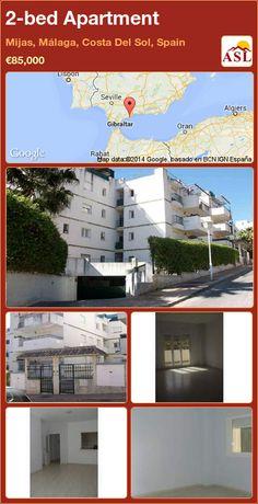 2-bed Apartment in Mijas, Málaga, Costa Del Sol, Spain ►€85,000 #PropertyForSaleInSpain