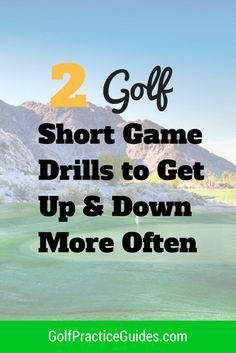 Golf Practice Short Game Drills to Get Up & Down More Often Today I've got a two golf drills to use as a golf practice template to improve your short game. Improving your short game in golf is the fastest way to shooting lower scores and why you should s Putt Putt Golf, Golf Push Cart, Golf Chipping Tips, Golf Club Grips, Golf Practice, Golf Videos, Golf Instruction, Golf Exercises, Golf Tips For Beginners