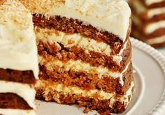 Layer Carrot Cake - Recipe - The Answer is Cake