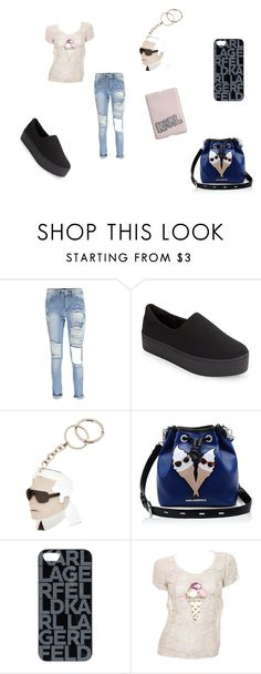 """""""Karl Lagerfeld"""" by jadyeleng on Polyvore featuring moda e Karl Lagerfeld"""