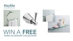 Maykke is giving away a free Soma accessory collection every day until August 17. That's too good to pass up! You can enter the contest here: http://upvir.al/ref/i7647365