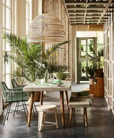 Add some green to your home by VT Wonen