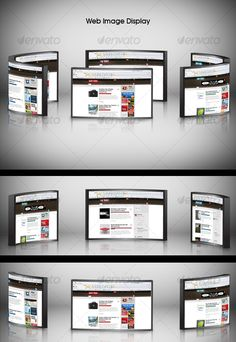 3d Web Image Displayer  -  PSD Template • Download ➝ https://graphicriver.net/item/3d-web-image-displayer/77597?ref=pxcr