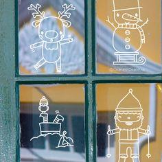 Christmas Doodles, Christmas Crafts, Christmas Decorations, Xmas, Winter Wonder, Chalkboard Art, Clip Art, Neon Signs, Painting