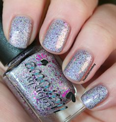 The Girlie Tomboy: @colorsbyllarowe Pink Sprinkle (Discontinued) Spring Frenzy 2014 Collection (The Glitter Holos)