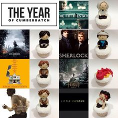 {Twitter / vereentjoeng: Cumbercupcakes: Here's the one with Smaug. XD #BenedictCumberbatch} - These are so f'ing great. People's art blows me away every damn time ♥