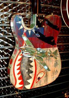 Fender Custom Shop masterbuilt telecaster flying tigers.