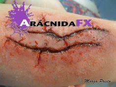 Maquillaje fx , heridas, contusiones, cortes...  #sfxmakeup https://www.facebook.com/aracnidafx/ https://www.instagram.com/aracnidafx/ https://www.pinterest.com/arcnidafx/
