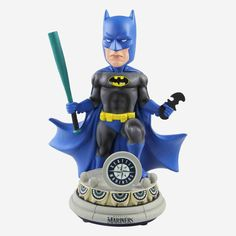 New York Mets DC Comics Batman Bobblehead Red Dc, Batman Versus, Dc Comics, Spiderman Pictures, Mlb Texas Rangers, Harley Quinn Comic, Batman The Dark Knight, Washington Nationals, Minnesota Twins