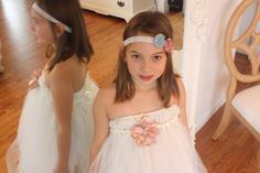 ivory flower girl/wedding dress by AdelaLigiaDesigns on Etsy, $35.00