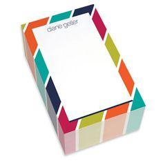 Bold Stripes Chunky Notepads