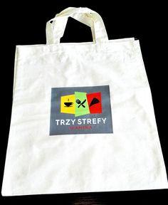 #Materiały #promocyjne w postaci #torby z #logo dla Trzy Strefy by #AgencjaGreenFly Logo Nasa, Reusable Tote Bags, Design