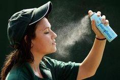 Hydrating facial sprays help moisturize your skin.