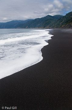 Black Sands Beach, Shelter Cover, Kings Range National Conservation Area along the Lost Coast, Humboldt, California