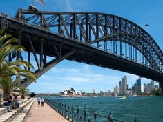 The Bridge Climb up to the very top may not be for everyone, but walking across it is a great option —and it's free. Pick up a map at the Sydney Visitor Centre in The Rocks and ask for your nearest access point to the Sydney Harbour Bridge, aka the Coat Hanger.