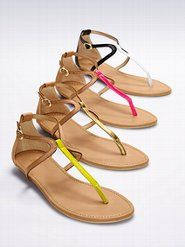 Women's Designer Sandals: Wrap & Thong Sandals to Wedge & Gladiator Sandals at Victoria's Secret