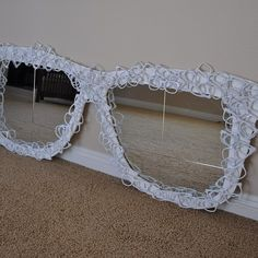 cool  mirror - I don't know if it would ever fit into our home decor, but I like it