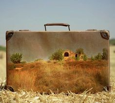 Memory Suitcase – Photography and old suitcase #Art, #Photography, #Suitcase