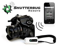Control your digital camera wirelessly from a smart phone or tablet to take group shots, self portraits, time lapse movies, and much more.