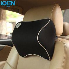 Hot Memory Foam car pillow seat cover Headrest Neck comfortable for toyota ford kia vw Hyudnai chevrolet nissan buick honda lada