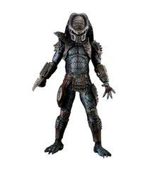 Figura Warrior Predator 2. NECA, 45cm Figura articulada de 45cm, fabricada por NECA del Predator Warrior, basado en el personaje que aparece en la segunda entrega de la saga.