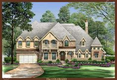The Colorado House Plan - Front Rendering