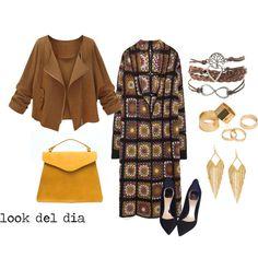 look del dia by aliciagorostiza on Polyvore featuring moda, Zara, Christian Dior, Pieces and Panacea