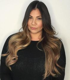 Vivid Ideas for Black Ombre Hair Light Brown Ombre For Black HairLight Brown Ombre For Black Hair Dark To Light Ombre, Light Brown Hair, Light Hair, Black Hair Ombre, Hair Color Dark, Brown Hair Colors, Best Ombre Hair, Hair Lights, Natural Dark Hair
