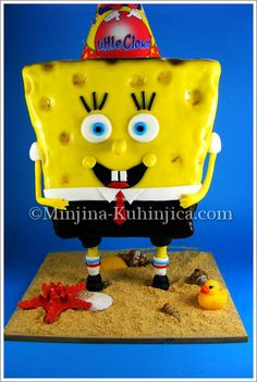 SpongeBob on your feet-tutorial