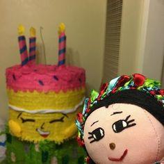 Shopkins Pinata, Cake, Desserts, Food, Tailgate Desserts, Deserts, Kuchen, Essen, Postres