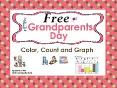 FREE Grandparents Day  (Color, Count and Graph):* 3 worksheetsFREE Grandparents Day (Color, Count and Graph): by Qurrat ul Ain Ahmer is licensed under a Creative Commons Attribution 4.0 International License.