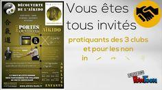 """Le vendredi 3 février 2017 aura lieu au Dojo La Fontaine de Livry-Gargan une session """"Portes Ouvertes à la découverte de l'Aïkido"""" à partir de 18h30. École Livryenne d'Aïkido - Gymnase Jean de La Fontaine - 4 avenue Lucie Aubrac - 93190 Livry-Gargan. Venez découvrir l'AÏKIDO en famille, entre amis, entre collègues ou bien seul(e). Pratiquants, venez nombreux, accompagnés de vos amis, familles, connaissances, afin de leur faire découvrir cet art martial enrichissant qu'est l'Aïkido. #aikido"""