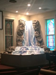 Journey off the map VBS waterfall!