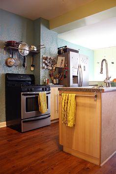 organized kitchen - want