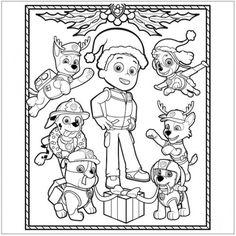 Dibujos para colorear Patrulla canina: fotos dibujos