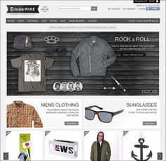30 Professional Looking e-Commerce Sites For Your Inspiration
