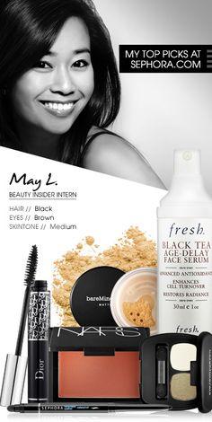 May L., Beauty Insider Intern. My picks at Sephora.com. #Sephora #SephoraItLists