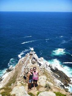 Hiking to the tip of the cape in Cape Town is a popular scenic adventure. Courtesy of Susan Sloss Empire, World Cruise, Underground World, Volunteer Abroad, Volunteers, Cape Town, Outdoor Travel, Touring, South Africa