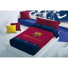 MANTA F.C.BARCELONA - Por 43.2 Euros! Manta Terciopelo FC Barcelona