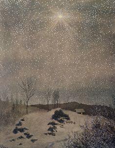 December by Theodor Kittelsen.